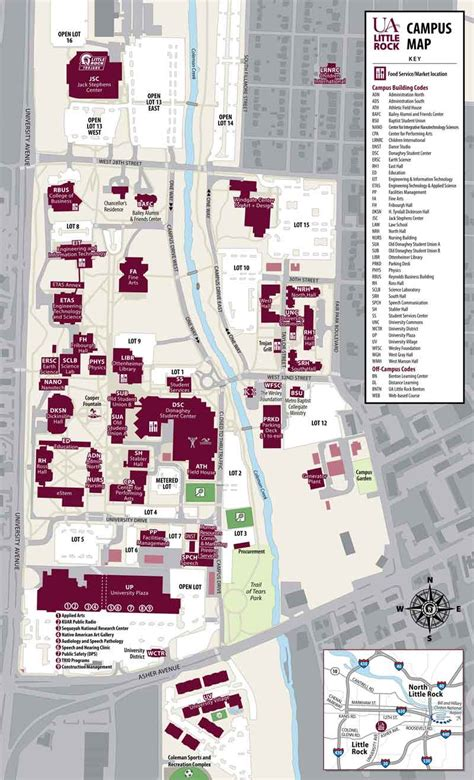 Our campus | About us | University of Arkansas at Little Rock